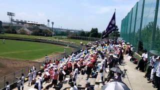 20150715 高校野球広島大会 国泰寺高校チャンステーマ「Jock Rock」