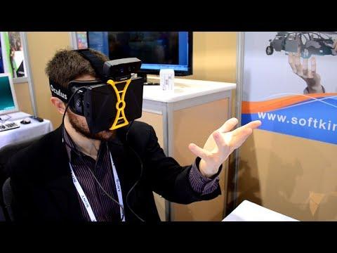CES 2014: Soft Kinetic Oculus Rift + Creative Depth Camera Demo