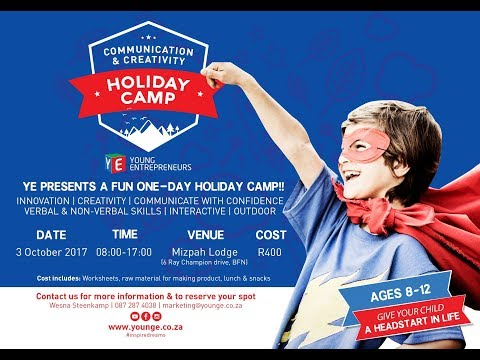 Bloemfontein October Holiday Camp 2017