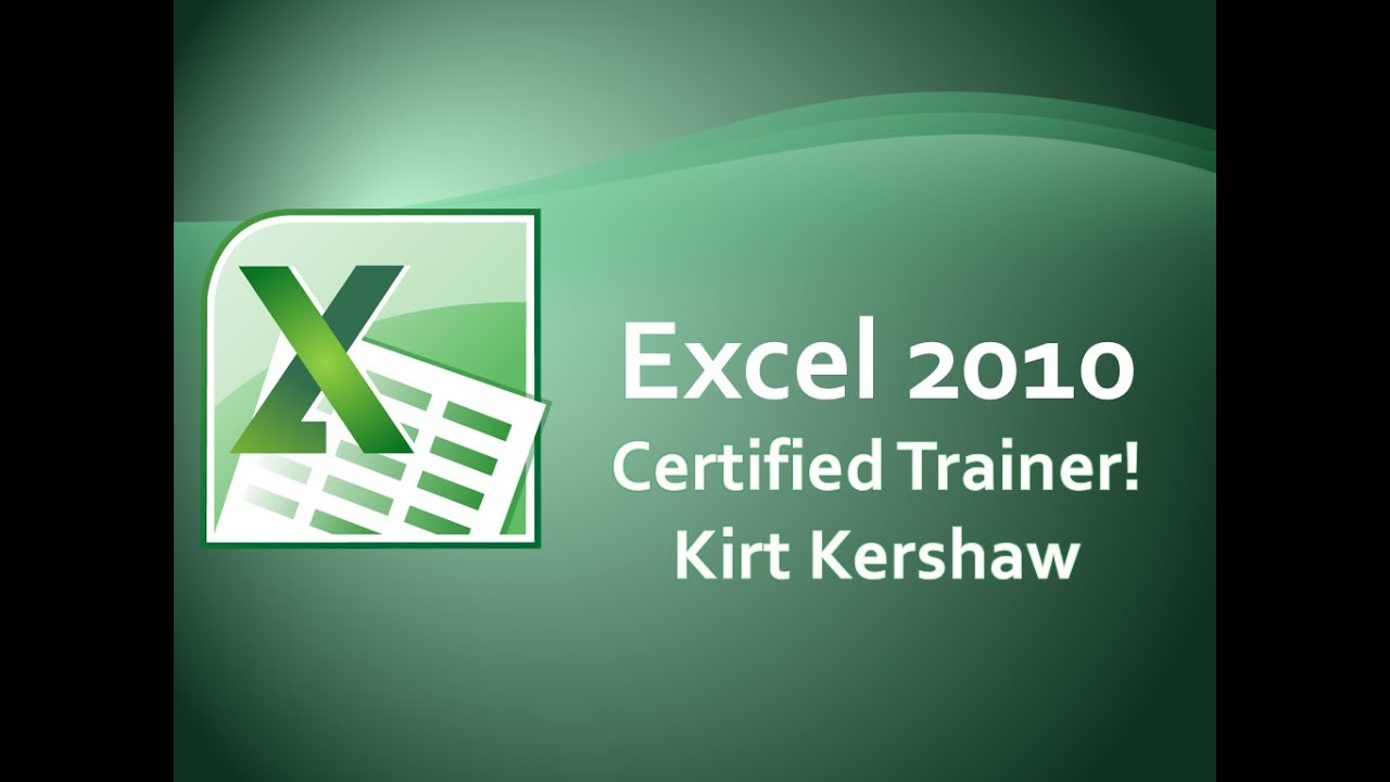 Excel 2010: Print Preview