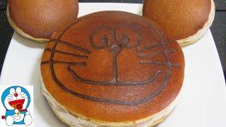 làm bánh DOREMON KHỔNG LỒ Dorayaki RecipesТорт на Сковороде làm bánh Gato chiên