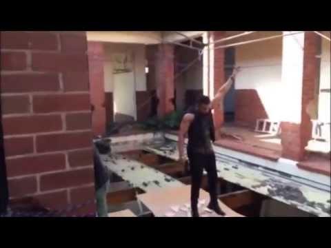 Yo Yo Honey Singh Performing Real Stunts on set in Durban