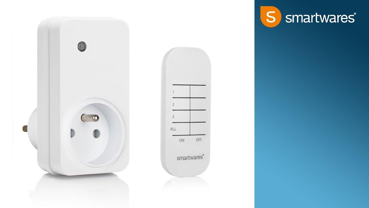 Smartwares Slanke Stekker Schakelaarset Sh5 Set Fl Nl