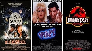 Terrible Triple Features: Jeff Goldblum Needs a New Travel Agent!