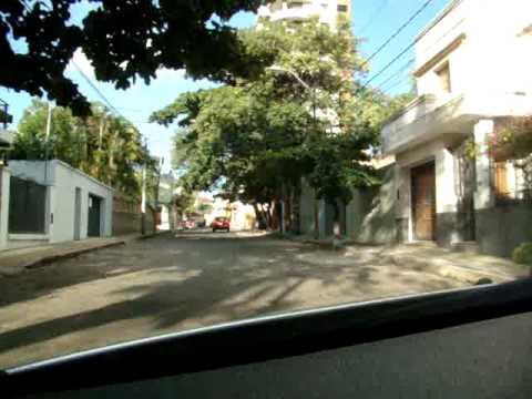 Calles de Asuncion, Paraguay.MPG