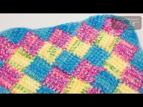 Youtube Crocheting Borders : How to Crochet A Border: Tunisian Entrelac Style - YouTube
