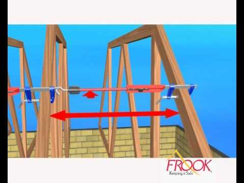 Frook Truss Temporary Bracing Youtube