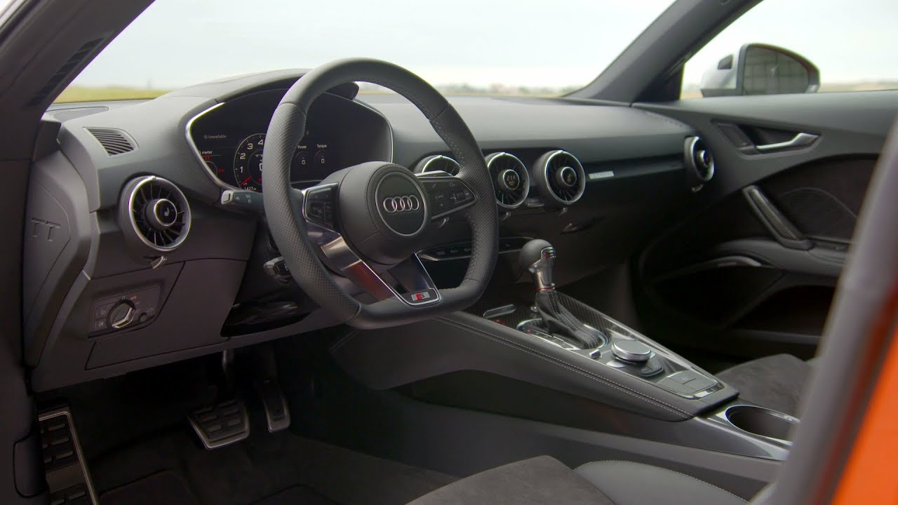 2019 Audi Tts Coupe Interior Youtube