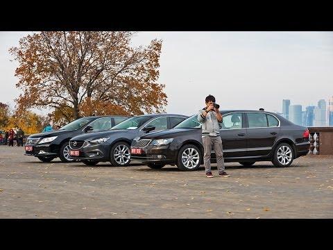 2013 Mazda6 vs. Skoda Superb vs. Toyota Camry