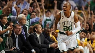 Ray Allen - 2008 NBA Finals Full Highlights vs Lakers (720p HD)
