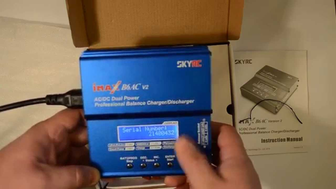 Высококачественное зарядно-разрядное устройство imax b6 v2 создано для зарядки и обслуживания всех современных типов аккумуляторов.