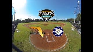 Game 3 - Little League Senior Boys Baseball Southeast Region 2018