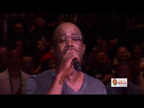 Darius Rucker Sings National Anthem   Heat Vs  Spurs Game 5