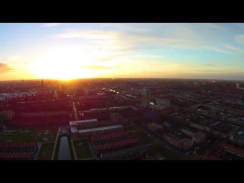 Groningen City Drone video 12-2015