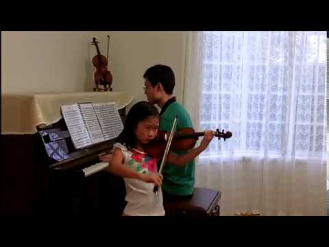 Tchaikovsky Op.42 No.3 Melodie ABRSM Violin Grade 7 B3 (Mingming at 7; 2 Years 1 Month of Study)