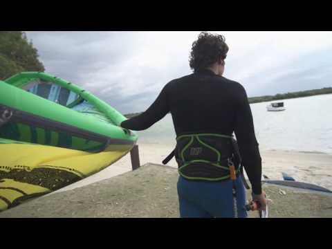 BEHIND THE SCENES: Wind dies on Keahi
