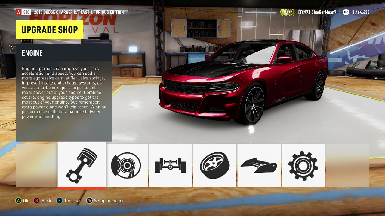 Forza Horizon 2 2015 Dodge Charger R T Top Speed Youtube