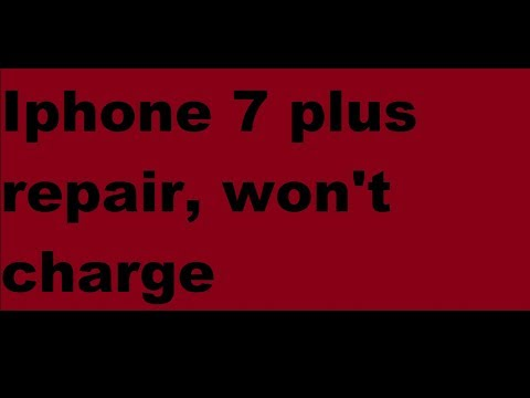 size 40 e9f1b 80f3a How to fix iphone 7 plus, not charging, won't turn on, black screen