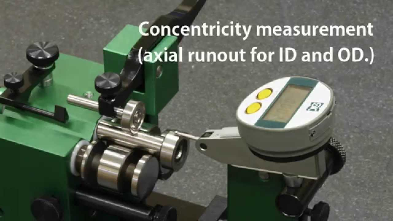 Run Out Gauge System Precision Jig For Eccentricity Measurement