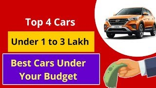 Best 4 Cars Under 3 Lakh    Cars Under 5 Lakh In India 2019