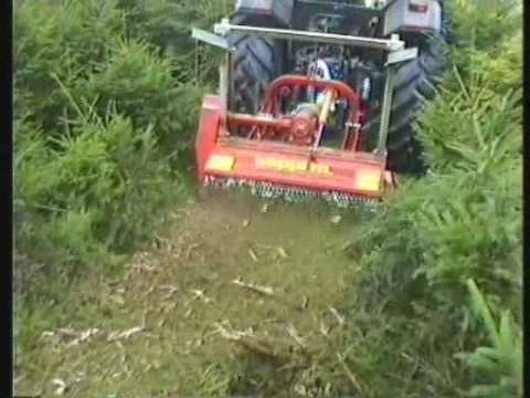 SEPPI M  - MINIFORST - Forestry mulcher for small to medium tractors - The  strong forestry mulcher