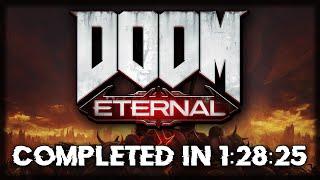 DOOM Eternal Speedrun - 1:28:25 (Any%)