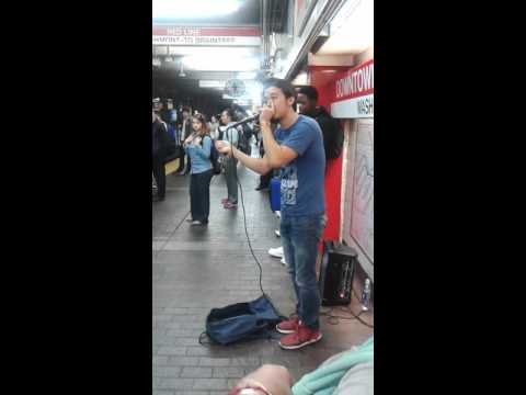 Gene Shinozaki Beatboxing in Downtown Crossing