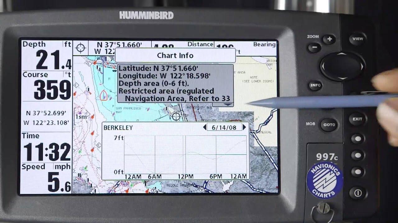 Navionics Humminbird Tide & Current Stations