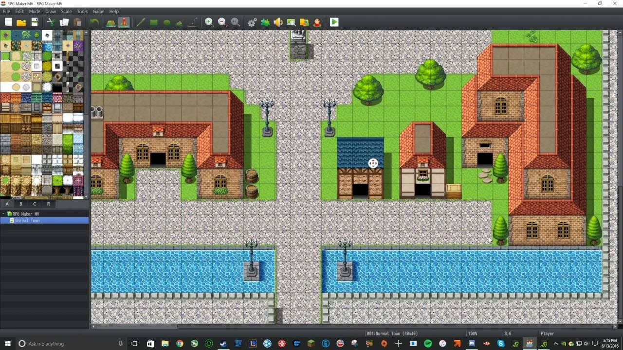 How to use RPG Maker MV | Episode 1| Learning the Basics