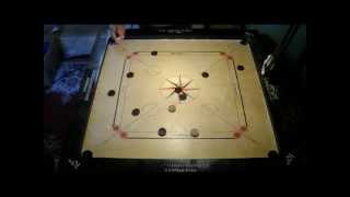 70. Carrom White Slam exemple with a cat