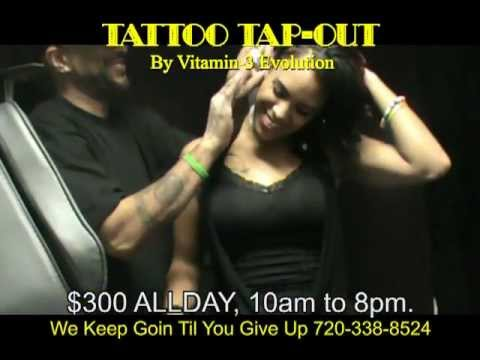 tattoo tapout session commercial youtube