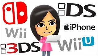 ALL Mii Maker Songs (DS, Switch, Smart Phone, WiiU, 3DS, Wii...)