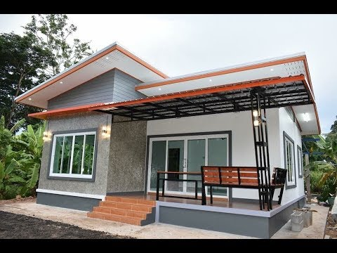 356 Idea บ้านชั้นเดียวสไตล์โมเดิร์น 3ห้องนอน 1ห้องน้ำ