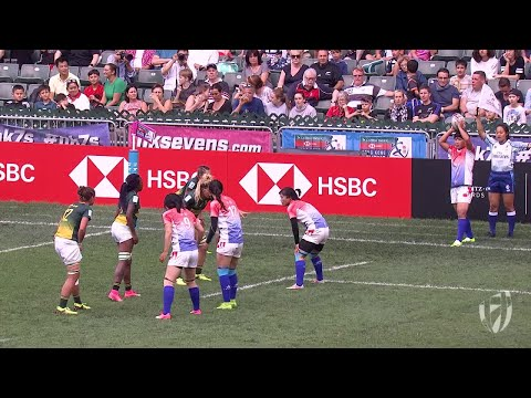 China score epic try to qualify for women's world series!