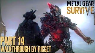 """Metal Gear Survive Прохождение Часть 14 """"Повелитель Бродяг"""""""