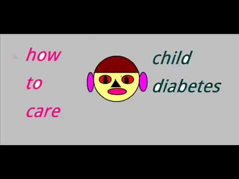 how to care child from diabetes