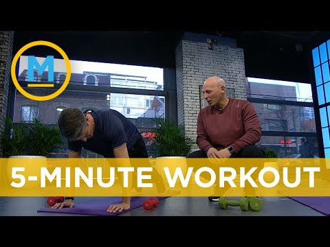 Celebrity Trainer Harley Pasternak's Ultimate 5-minute Workout | Your Morning