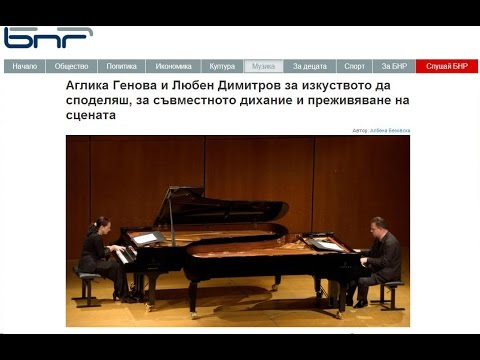 Genova & Dimitrov at BNR Radio Bulgaria Interview