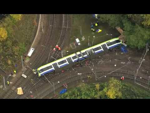 Driver of crashed Croydon tram 'probably fell asleep'