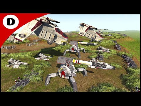 CLONES REPULSE BATTLE DROID INVASION - Star Wars: Rico's Brigade S2:E14 thumbnail