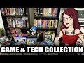 Retro Game & Tech Tour - Lots of Big Box PC Games! - PushingUpRoses