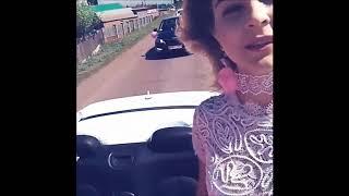 Подружки невесты на кабриолете  5 08 17 Свадьба Полина и Дмитрий  г Мелеуз
