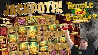 JACKPOT HIT on Temple Treasure!!!!