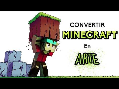 cÓmo-convertir-minecraft-en-arte