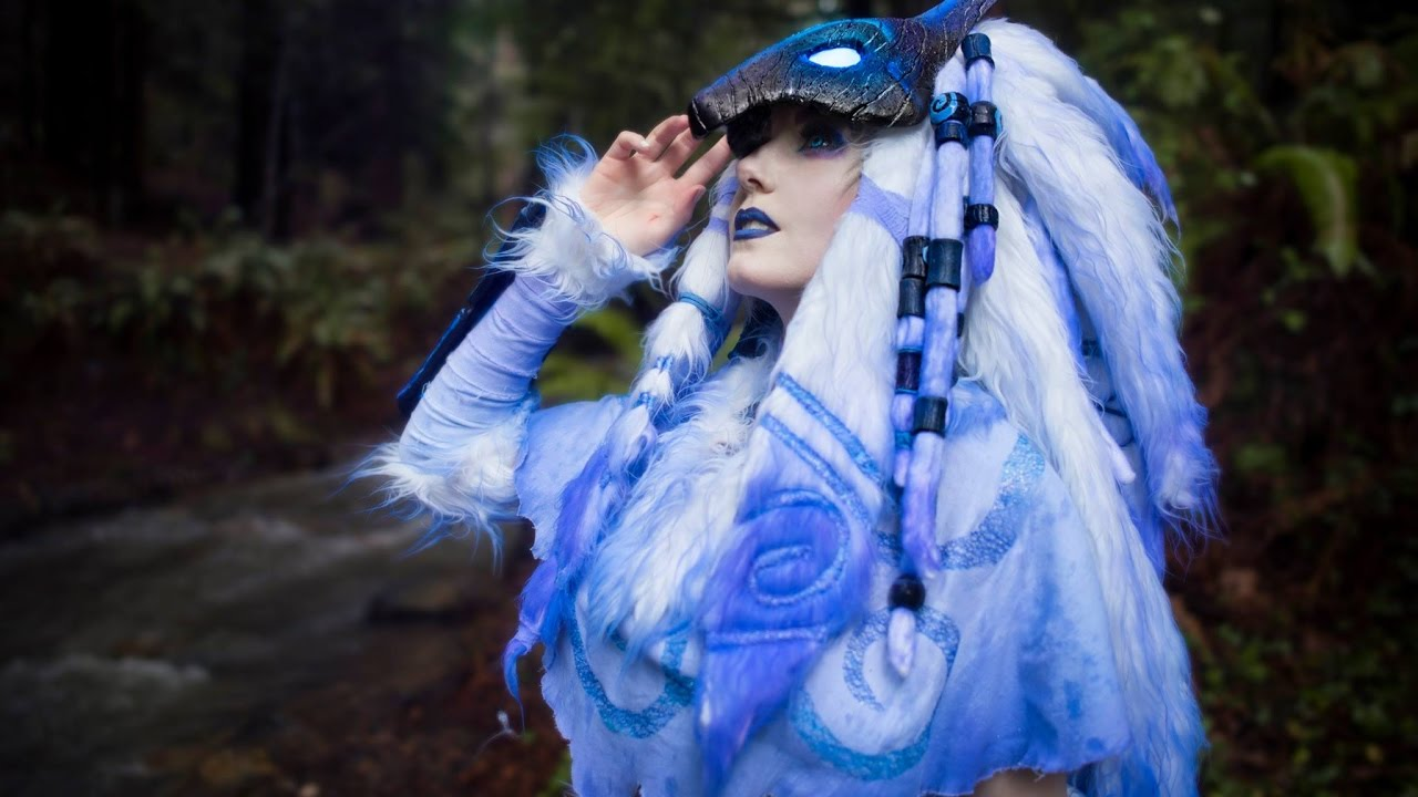 Kindred League Of Legends Cosplay Time Lapse Part1 Amp 2