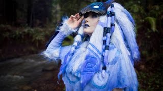 Repeat youtube video KINDRED: League of Legends Cosplay Time-lapse PART1&2