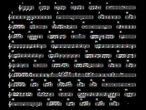 Terry Riley's IN C (Multitrack Recording in one person)