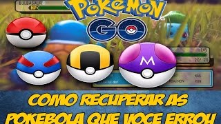 Pokémon GO - Recuperar Pokébola lançadas erradas ao capturar | Canal 2Geeks