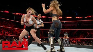 Ronda Rousey & Natalya vs. Alexa Bliss & Mickie James: Raw, Sept. 10, 2018 thumbnail