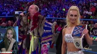Video WWE Smackdown 6/19/18 Carmella and Ellsworth REUNITED download MP3, 3GP, MP4, WEBM, AVI, FLV Juni 2018